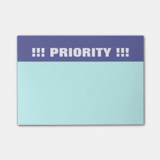 Priority Post-it Notes