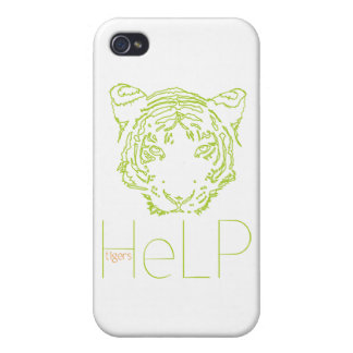 Priority species: Tiger iPhone 4 Covers