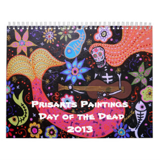 Prisarts Day of the Dead Collection Calendar