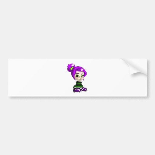 Priscilla Bumper Sticker