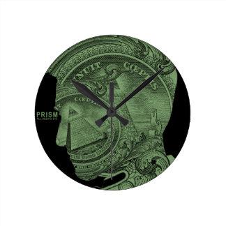 PRISM - All Seeing Eye - Green Clock