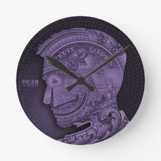 PRISM - All Seeing Eye - Purple Clock