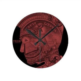 PRISM - All Seeing Eye - Red Clock