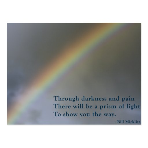 Prism Of Light Post Card