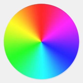 Prism Round Sticker