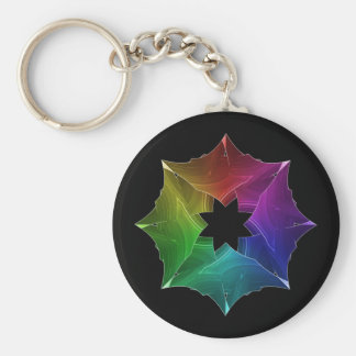 Prism Snowflake keychain