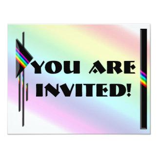 Prismatic Accent Collection Custom Invites