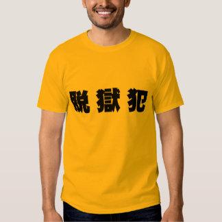 Prison breach offense tee shirts