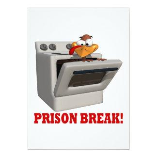 Prison Break 13 Cm X 18 Cm Invitation Card