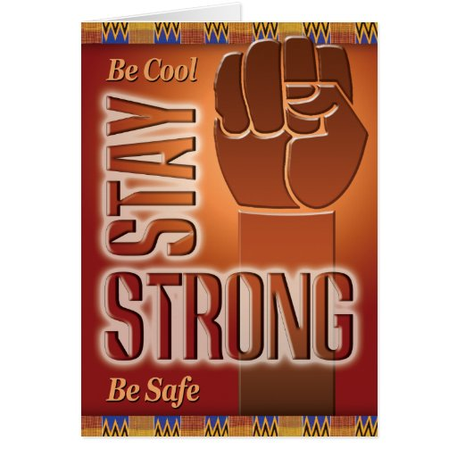 Prison Cards - Stay Strong