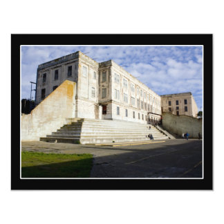 Prison Courtyard 11 Cm X 14 Cm Invitation Card