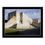 Prison Courtyard on Alcatraz Postcard