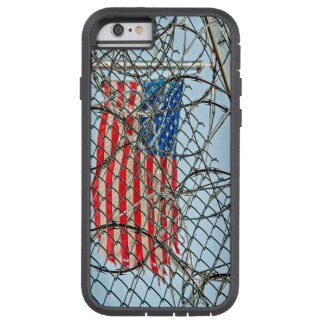 Prison Fence and Flag Tough Xtreme iPhone 6 Case