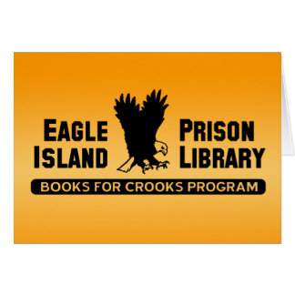 Prison Library Greeting Card