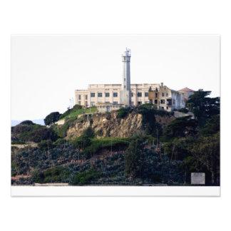 Prison On The Island of Alcatraz Personalized Invite