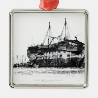 Prison Ship in Portsmouth Harbour Christmas Ornament