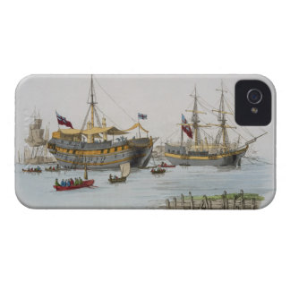 Prison Ships, from 'Costume of Great Britain', pub Case-Mate iPhone 4 Case