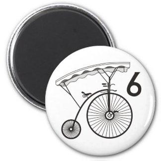 Prisoner Village Badge 6 6 Cm Round Magnet