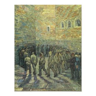 Prisoners Exercising by Vincent van Gogh 11 Cm X 14 Cm Invitation Card