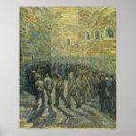 Prisoners Exercising, van Gogh, Vintage Fine Art Poster