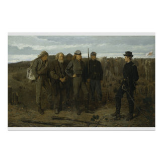 Prisoners from the Front by Winslow Homer 1866 Poster