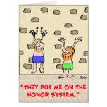 prisoners honour system