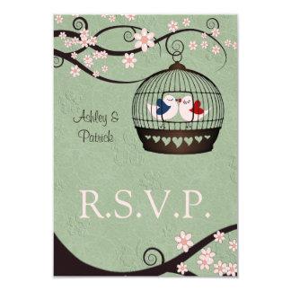 Prisoners of Love RSVP 9 Cm X 13 Cm Invitation Card