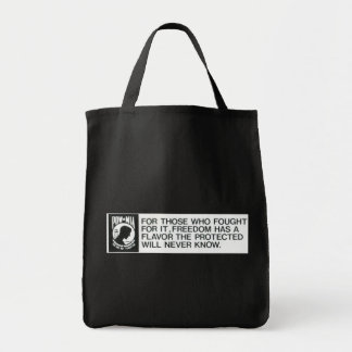 Prisoners Of  War, Missing in Action Grocery Tote Bag