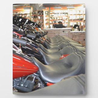 Pristine Motorcycle Seats Plaques
