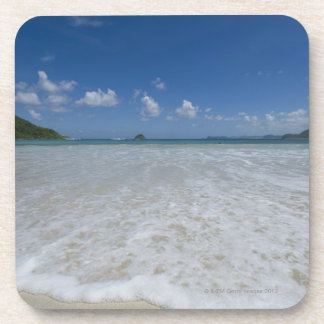 Pristine Tropical White Beach Coaster