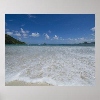 Pristine Tropical White Beach Poster