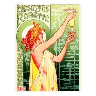 Privat Livemont - Absinthe Robette Art Nouveau Postcard