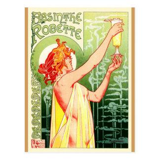 Privat Livemont Absinthe Robette. Art Nouveau. Postcard