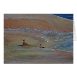 Private Beach Greeting Cards
