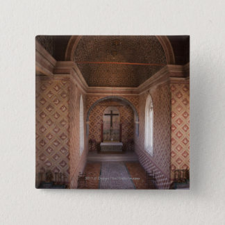 Private Chapel In Sintra National Palace 15 Cm Square Badge