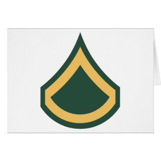 Private First Class Greeting Card