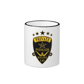 Private Investigator Coffee Mugs