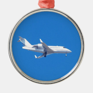Private jet. christmas ornament