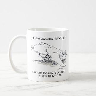Private Jet Coffee Mug