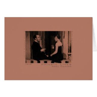 Private Lives Greeting Card