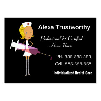 Private Nurse Professional Large Pack Of Chubby Business Cards