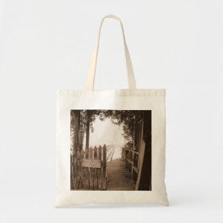 Private Pier Budget Tote Bag