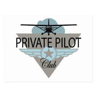 Private Pilot Club Postcards