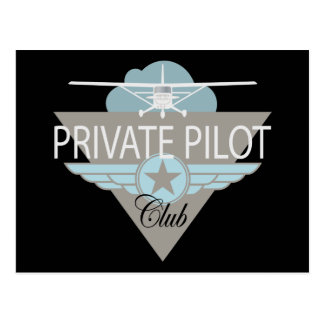 Private Pilot Club Post Cards