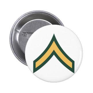 Private rank 6 cm round badge