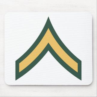 Private rank mousepad