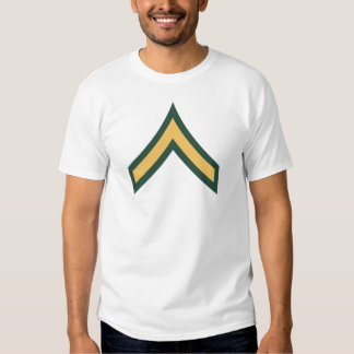 Private rank t shirt