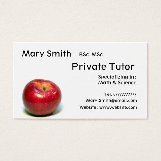 Private Tutor / Teacher / Personal Tutor business