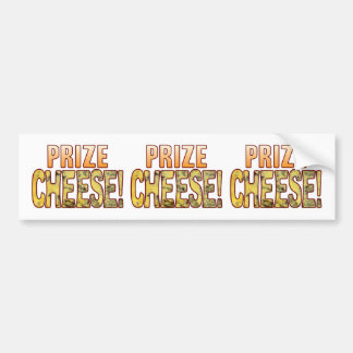 Prize Blue Cheese Bumper Sticker