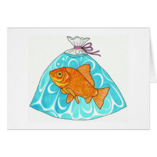 Prize Fish! Note Card